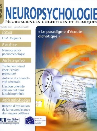 Revue de Neuropsychologie